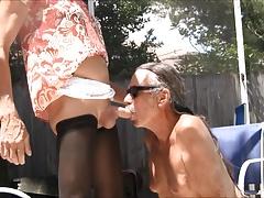 Jamie Blows Jenny Transvestite Cock Slut! #5