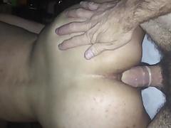 Older White Daddy fucking my Latin Pussy