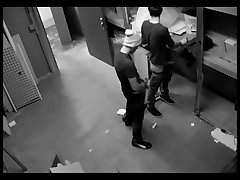 Camera Caught Two Gay Guys Humping In Warehouse