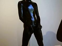 Latex catsuit - feeling good