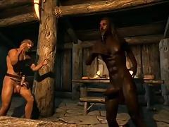 Game Sex Mod #3:  Skyrim DANCE DANCE
