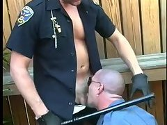 Nasty Cops Outdoor Suck