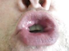 MWM Sucks Off Small Dick, Gets LARGE CIM, Cum Play & swallow