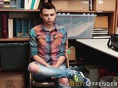 Teen twink shoplifter