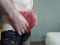 Cum in panties