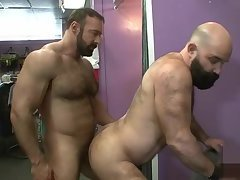 Muscled Mature Ass Nailed From Behind