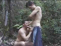 Bareback in the Forest