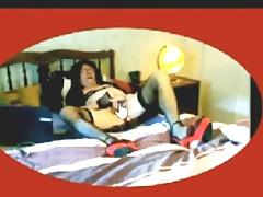 Diana la salope dans son lit