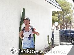 ManRoyale Tom Bentley pounds Jack Hunter tight ass