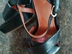 Fucking and Cumming H&M Platform Sandals Heels