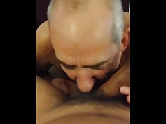 Grandpa blowjob series - 23