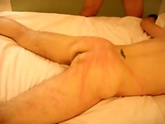 Exciting spanking & anal nailing