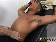Tied guy gets tickled