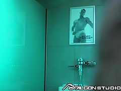 FalconStudios Pride Party Bathroom Buttfucking