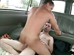 Straighty fucks gay ass for cash