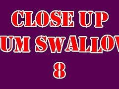 Close Up Cum Swallow 8