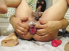 fisted pierced and streched