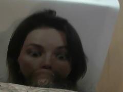 Girl 2 - Cum Tribute Masturbate Blowjob Facefuck Cumshot