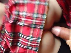 Doll Lya - Deux salopes en jupe plissee