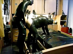 Hot Leather Fuck