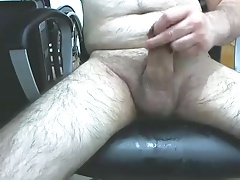 Mature male masturbating 1