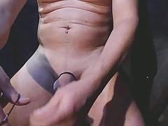 electrostim sonde elec cock pee foreskin closed