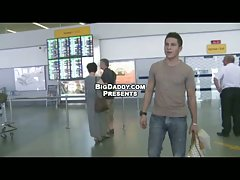 Airport Raw Gay Sex for Money