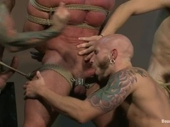 Derek Pain gets tortured by Nick Moretti and other gays in locker room