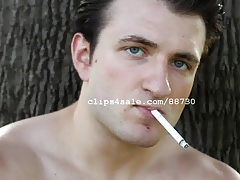 Smoking Fetish - Chris Smoking Video 2
