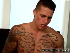 Nice boy in tats fucked in threesome