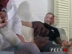 Feet worship and collage lads foot fetish