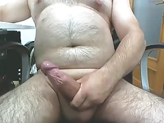 Mature male masturbating 3