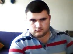 Hot russian bear with nice cock