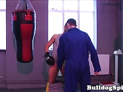 British boxer rimmed before riding hardcock
