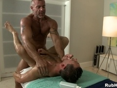 Ari Sylvio gets his gay butt drilled like never before by Trace Michaels