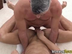Gay mormon rides dick