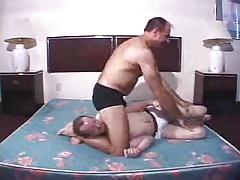 cock grab