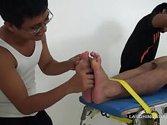 Asian Twink Lance Racked and Tickled