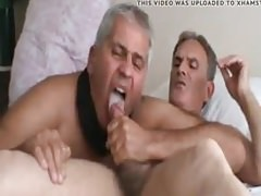 Two daddies play