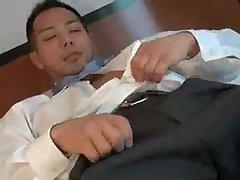 Asian muscle wanking solo