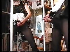 Pantyhosed Maid