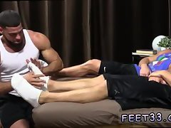 Hairy legs boys nude and smoothing