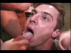 Filling up with cum