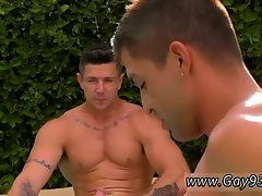 Naughty trio hot action by the pool