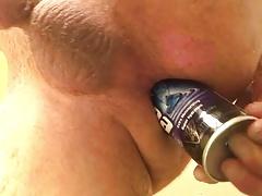 Shaving cream in my ass