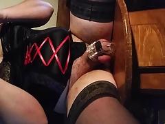 Cuckold Chastity cum sissy