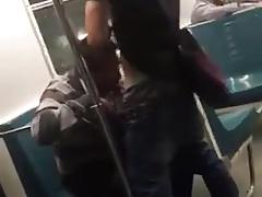 Sucker in the train