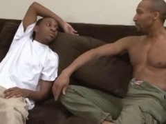 Black BBC Dilf Having an intercourse A Underweight Thug Raw And Bareback