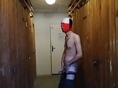 striptease in the cellar