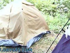 Hot sucking in a tent
